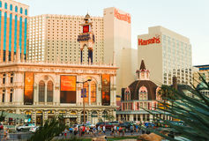 Harrahs-Hotel am 8. Juli 2013 in Las Vegas Lizenzfreie Stockbilder