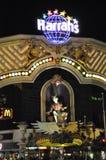 Harrahs Hotel und Kasino in Las Vegas Lizenzfreies Stockbild