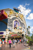Harrahs-Hotel und Kasino, Las Vegas Stockbilder