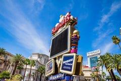 Harrahs Hotel und Kasino, Las Vegas lizenzfreie stockfotos