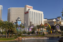 Harrahs hotell, dag i Las Vegas, NV på Juni 05, 2013 Arkivfoton