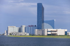 Harrahs kasino i Atlantic City som är nytt - ärmlös tröja arkivfoto