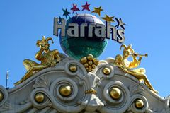 Harrahs - Las Vegas Stock Photos