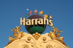 Harrahs - Las Vegas Stock Images