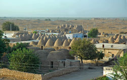 Harran Adobe House. Harran was a major ancient city in Assyria- Upper Mesopotamia whose site is near the modern ....Harran is famous for its traditional & x22 Stock Photo