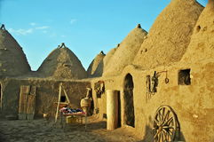 Harran Adobe House. Harran was a major ancient city in Assyria- Upper Mesopotamia whose site is near the modern ....Harran is famous for its traditional & x22 Royalty Free Stock Photos