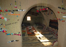 Harran Adobe House. Harran was a major ancient city in Assyria- Upper Mesopotamia whose site is near the modern ....Harran is famous for its traditional & x22 Royalty Free Stock Photo