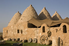 Harran, conical houses - Anatolia Royalty Free Stock Photos