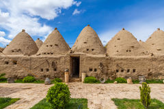 Harran houses a view from courtyard Royalty Free Stock Images