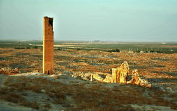 Harran University. Harran was a major ancient city in Assyria- Upper Mesopotamia whose site is near the modern Harran.  Ruins of the World& x27;s First Stock Image
