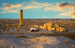 Harran University. Harran was a major ancient city in Assyria- Upper Mesopotamia whose site is near the modern Harran.  Ruins of the World& x27;s First Royalty Free Stock Photo