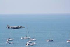 Harrier, air festival. Stock Images