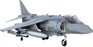 Harrier Aircraft Stock Photography