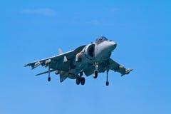 Harrier de AV-8B mais imagem de stock