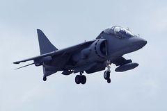 Harrier jet Stock Photography