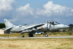 Harrier jetfighter Spain Royalty Free Stock Photo