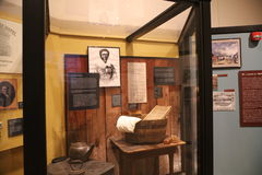Harriet Robinson Display Old Courthouse, St. Louis, MO. Harriet Robinson wife of Dred Scott c. 1799 – September 17, 1858 was an enslaved African American man Stock Photos