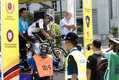 Harrif Salleh (MAS) Rider Terengganu Cycling Stock Photography