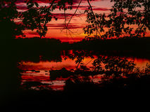 harriman κρατική ανατολή πάρκων Στοκ Εικόνες