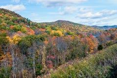 Harriman Autumn Landscape Stockfotos