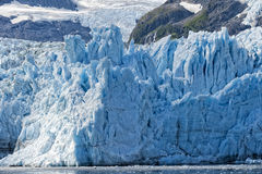 Harriman Glacier In Alaska Stock Photo