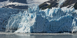 Harriman Glacier In Alaska Stock Images