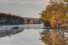 Harriman State Park in autumn Stock Photo