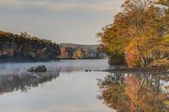 Harriman State Park in autumn Stock Photo