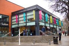 harringey埃菲尔德和北部东部伦敦学院  库存照片