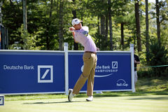 Harris English. Boston, MA- August 30:  Thursday Harris English the Deutsche Bank Championship at the TPC Boston golf course on August 30 , 2012 in Boston Royalty Free Stock Image