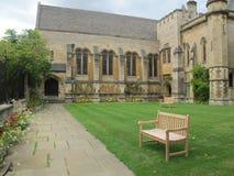 Harris Manchester College Chapel, universidade de Oxford fotos de stock