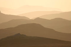 Harris Mountains Royalty Free Stock Photography
