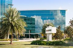 Harris - Palm Bay. Palm Bay, Florida, USA: The Harris Technology Center is a LEED-certified. 6,000-square-foot facility which opened in 2015 stock photos