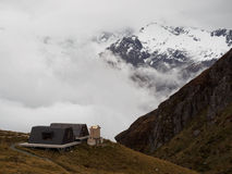 Harris Saddle Shelter, Routeburn Track Royalty Free Stock Photography