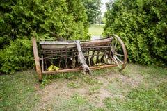 Harris Vintage Farm Equipment Royalty Free Stock Photo