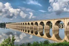 Harrisburg-Brücke Lizenzfreies Stockfoto
