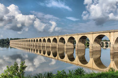 Harrisburg Bridge Royalty Free Stock Photo