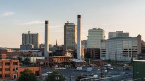 Harrisburg industriale Fotografia Stock