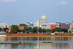 Harrisburg panorama Royalty Free Stock Photo