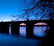 Harrisburg Pennsylvania Market Street Bridge Royalty Free Stock Images