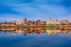 Harrisburg Pennsylvania, USA arkivfoto