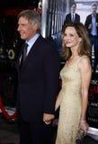Harrison Ford και Calista Flockhart Στοκ Φωτογραφίες