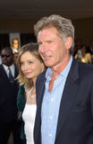 Harrison Ford,Calista Flockhart Royalty Free Stock Image