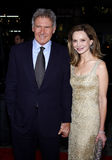 Harrison Ford and Calista Flockhart Stock Images