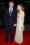 Harrison Ford and Calista Flockhart Royalty Free Stock Photos