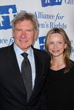 Harrison Ford, Calista Flockhart Stock Image