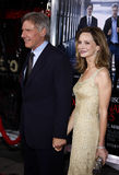 Harrison Ford et Calista Flockhart Photos stock