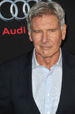 Harrison Ford. LOS ANGELES, CA - OCTOBER 28, 2013: Harrison Ford at the Los Angeles premiere of his movie Ender's Game at the TCL Chinese Theatre Stock Photos
