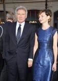 Harrison Ford und Calista Flockhart Lizenzfreie Stockfotografie