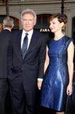 Harrison Ford und Calista Flockhart Lizenzfreies Stockbild